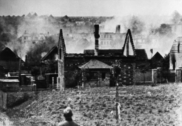 The Lidice Massacre – SS Members Set the Village Ablaze
