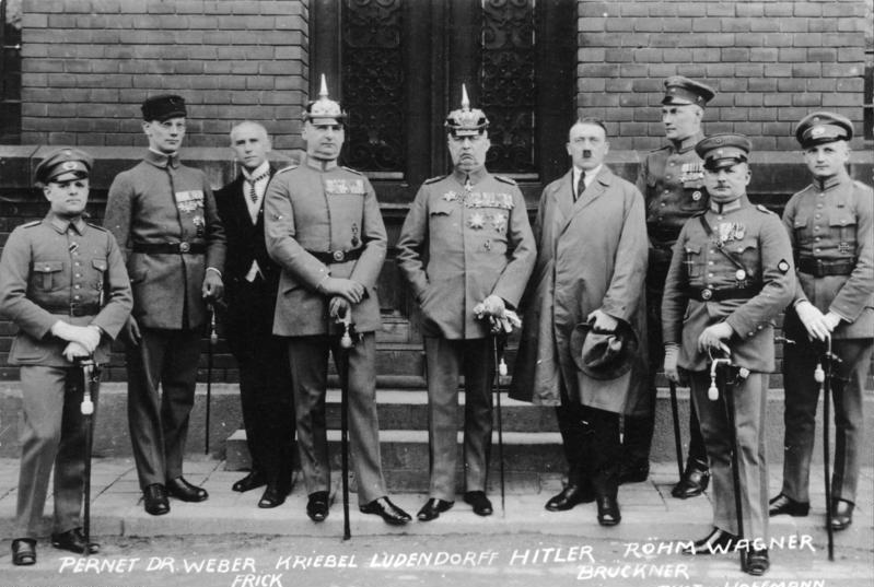 Ernst Röhm and other Beer Hall Putsch participants