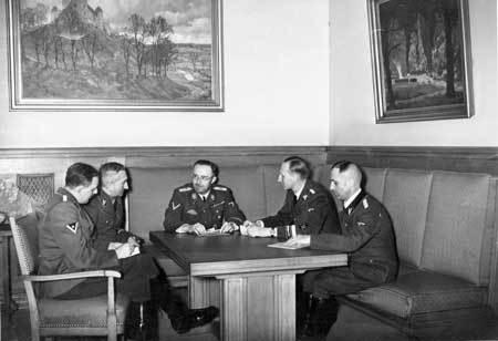Heydrich, Müller, Himmler