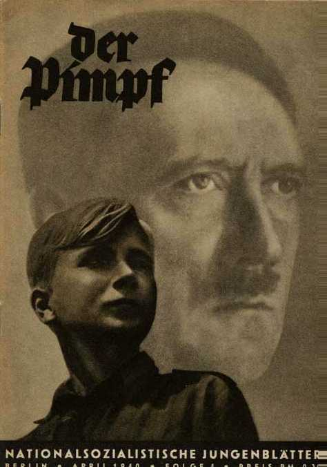 <em>Der Pimpf</em> Cover: Hitler's Birthday Cover 194