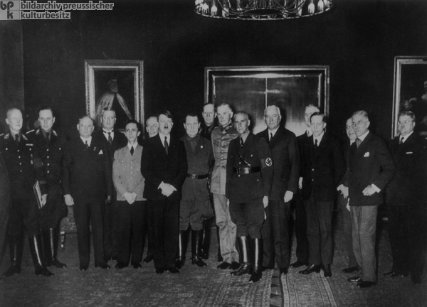 Adolf Hitler and his Cabinet, 1933