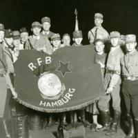 SA members with RFB Flag.jpg