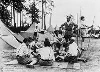 Hitler Youth encampment